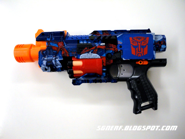 VINTAGE-REVIEW] Nerf transformers optimus prime blaster - YouTube