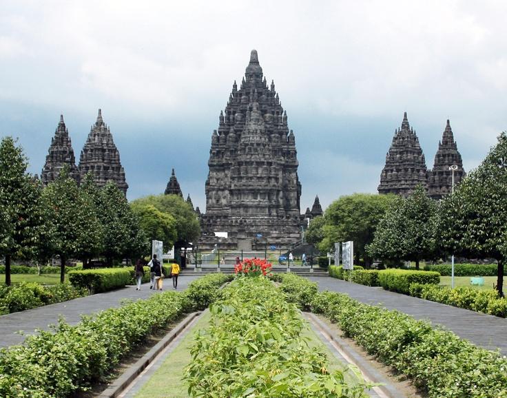 Candi Prambanan, Yogjakarta, Java, Indonesia