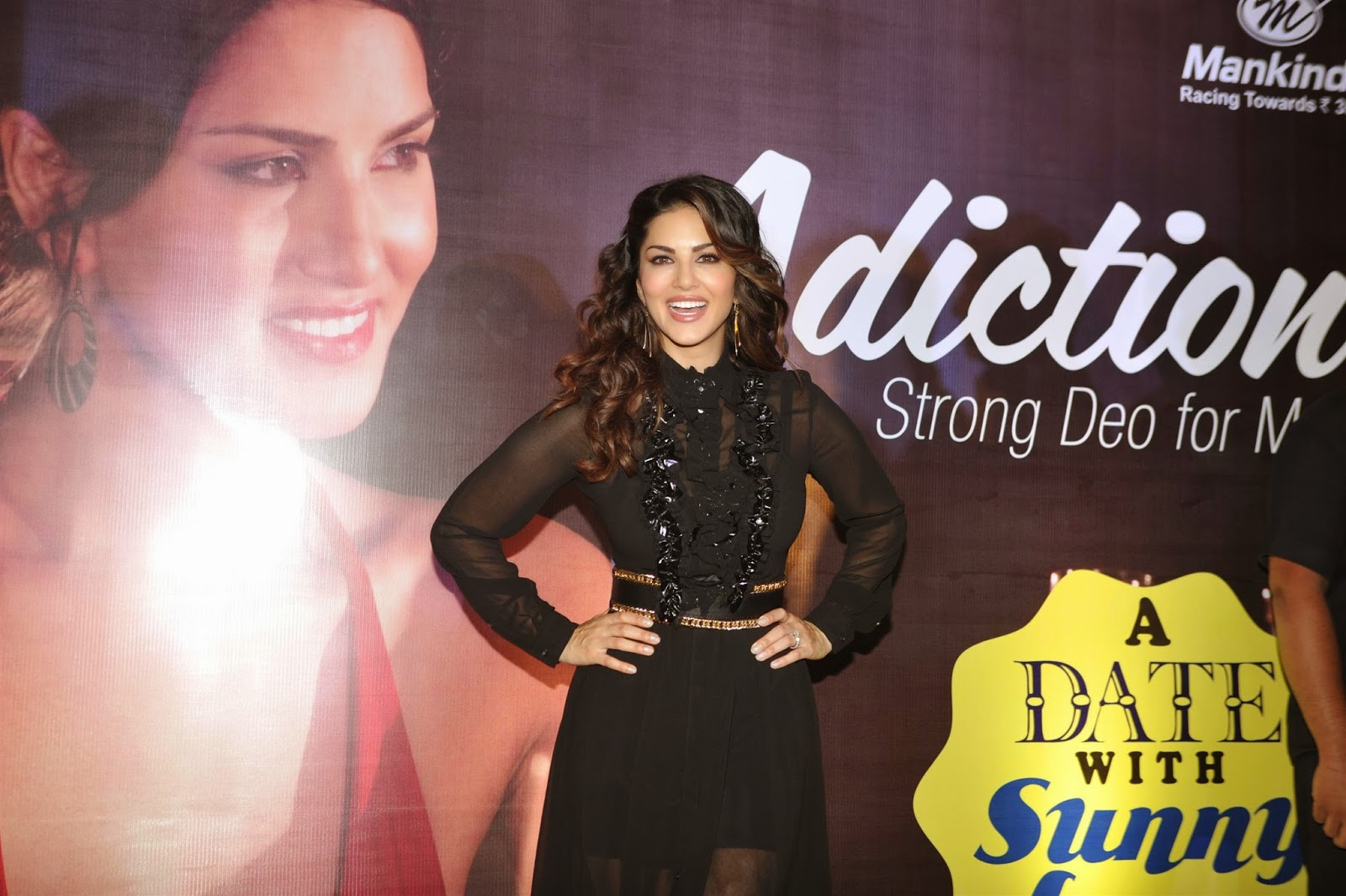 Sunny Leone at Mankind Pharma's Adiction Deo Contest Photos