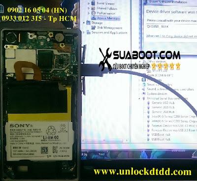 92 Thai Ha chuyen sua loi mat boot unbrick repair boot sony xperia Z1 c6902c6903 lay ngay gia re