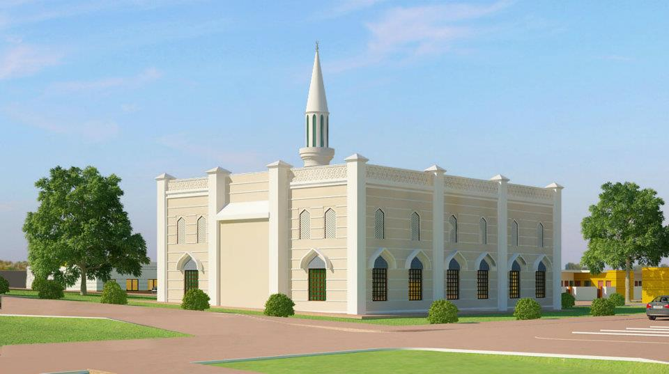Mosque elevation joy studio design gallery best design for Mosque exterior design