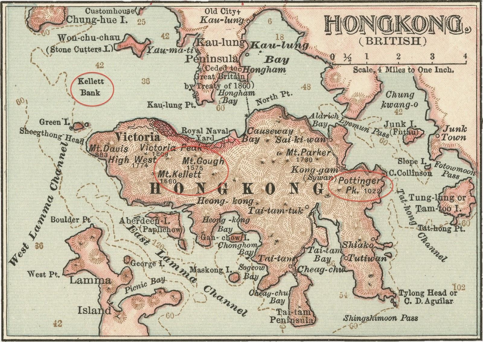 old hong kong map