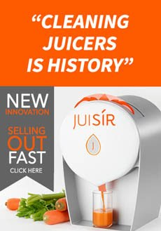 Available to Pre-Order Now! Cold Press Juicer - No Cleaning Required!