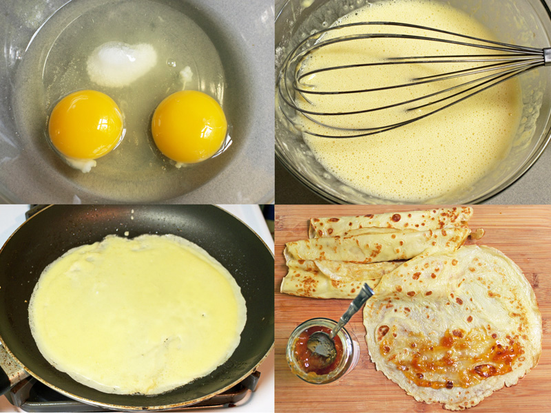 Cooking Weekends: Palacsinta; Hungarian Crepes