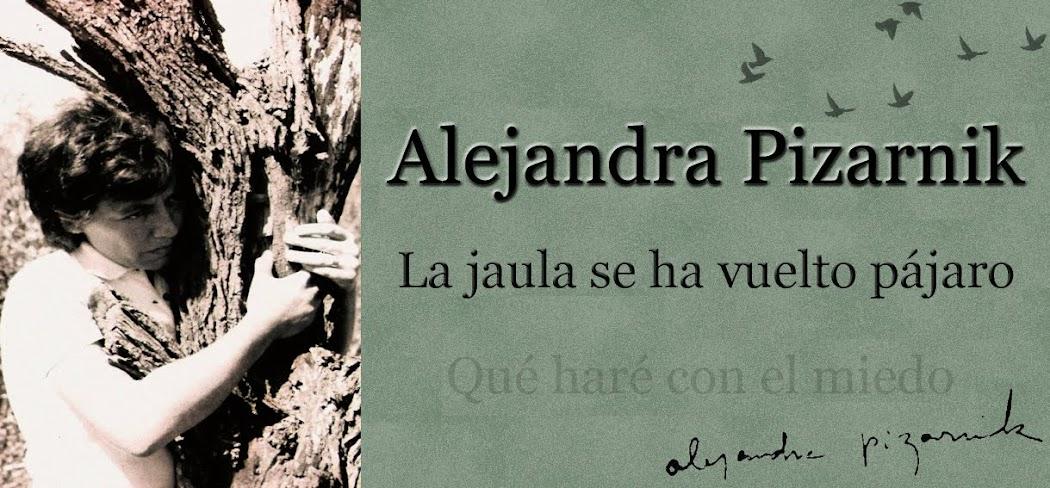 Alejandra Pizarnik: la jaula se ha vuelto pájaro