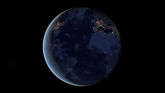 Video. Night World Map- NASA