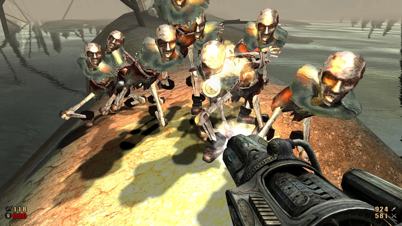 Overdose, which uses a modified version of the original painkiller engine, hasnt quite kept up