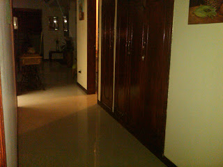 Hall of furnished apartment in good location in Bogota Colombia