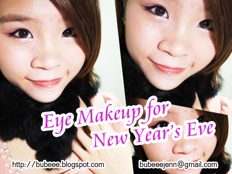 bubeee. ♥: [Makeup] Eye Makeup for 2012 New Year's Eve