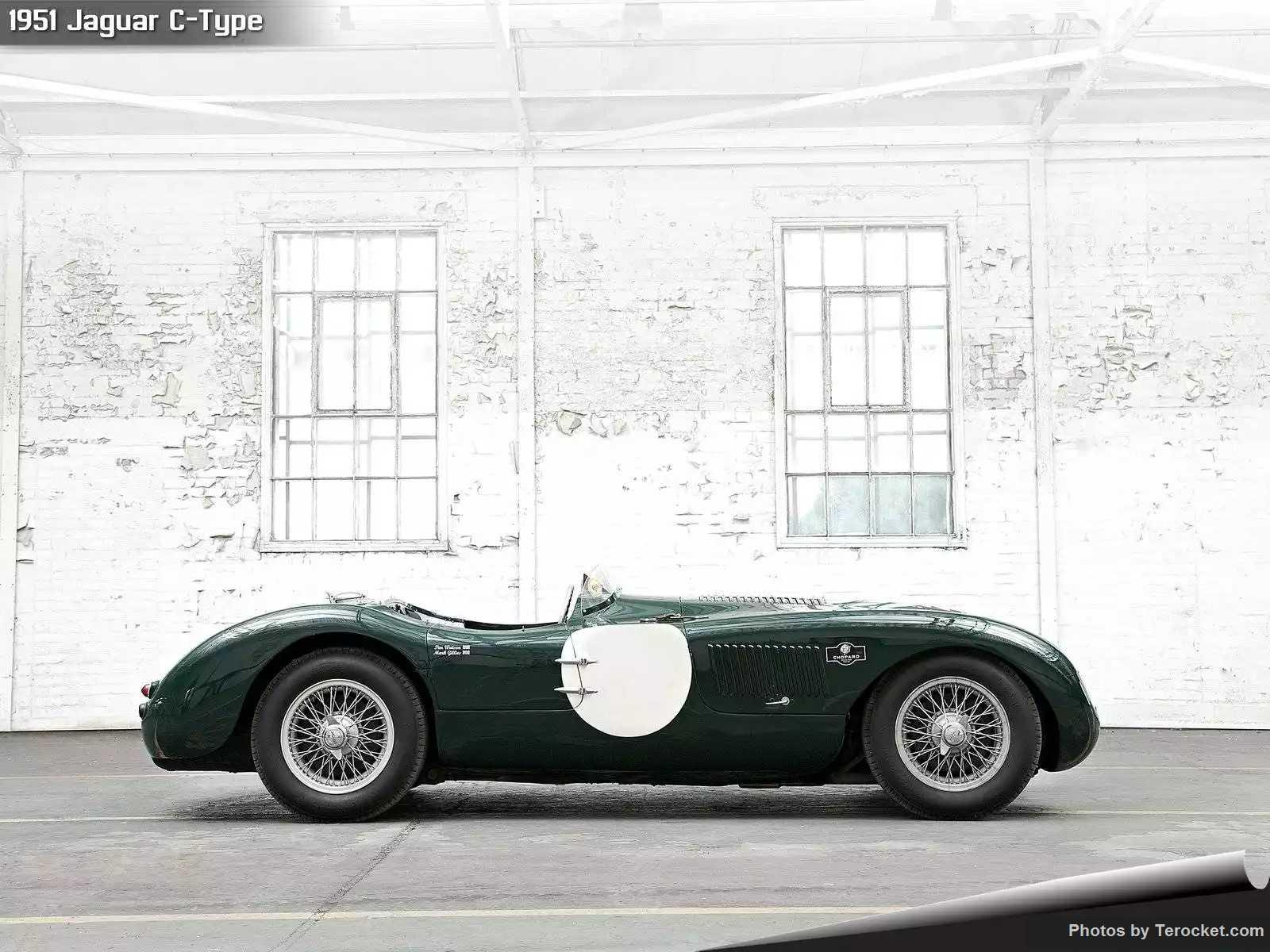 Hình ảnh xe ô tô Jaguar C-Type 1951 & nội ngoại thất