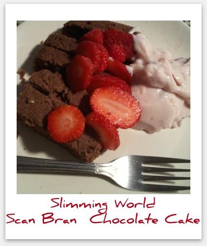 Slimming World Scan Bran Chocolate Cake Recipe