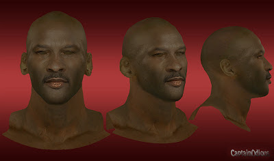 NBA 2K13 Michael Jordan Cyberface Mod