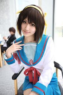 Haruhi Suzumiya Cosplay by Saya