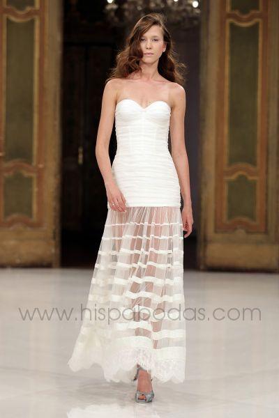 novias: vestidos 2012 boda civil ~ peinados para fiesta, juegos de