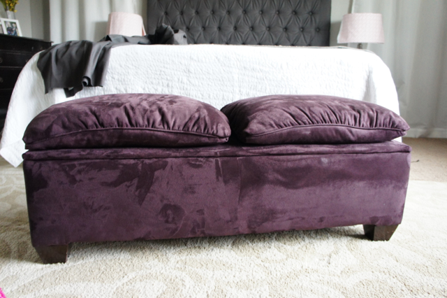 Elegant Tufted Bench