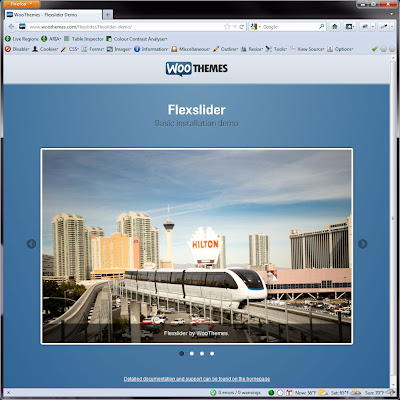 Screen shot of http://www.woothemes.com/flexslider/flexslider-demo/.