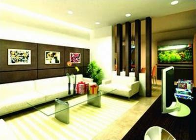 thiết kế phòng khách tại chung cư Hà Nội