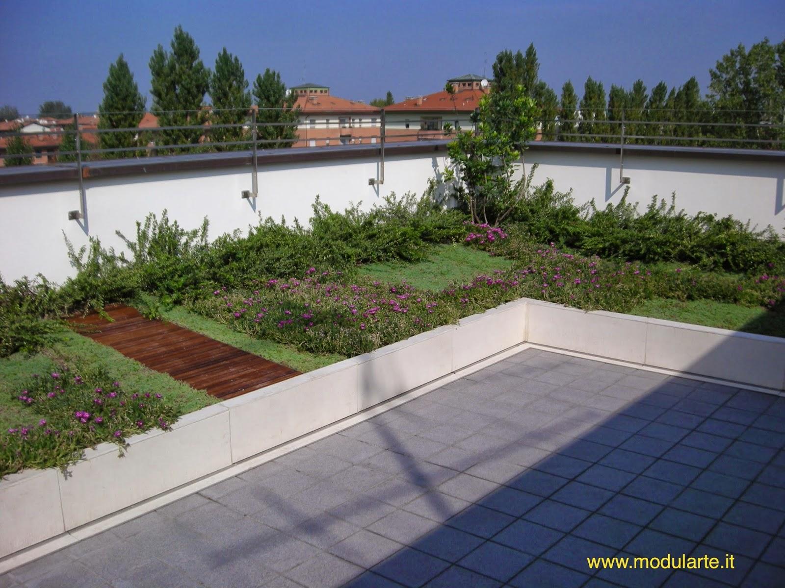 Emejing Giardino Pensile Terrazzo Gallery - Idee Arredamento Casa ...