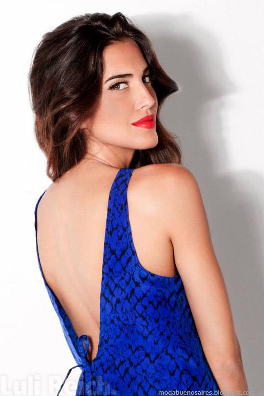 Moda Argentina otoño invierno 2014. Luli Reich invierno 2014 ropa de mujer de moda.