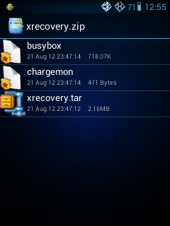 Xrecovery.zip, xrecovery, android recovery