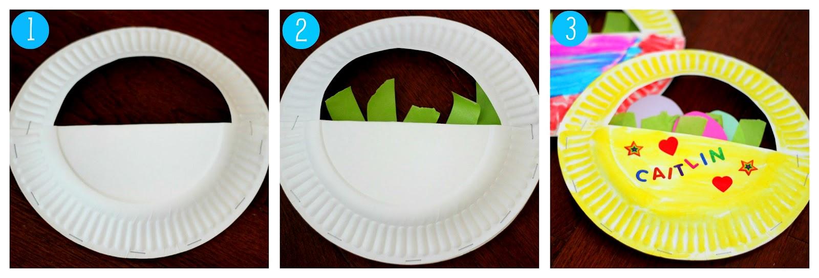 Paper Plate Easter Basket  sc 1 st  Toddler Approved! & Toddler Approved!: Paper Plate Easter Basket