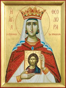 Azi 11 februarie praznuirea Sfintei Imparatese Teodora !