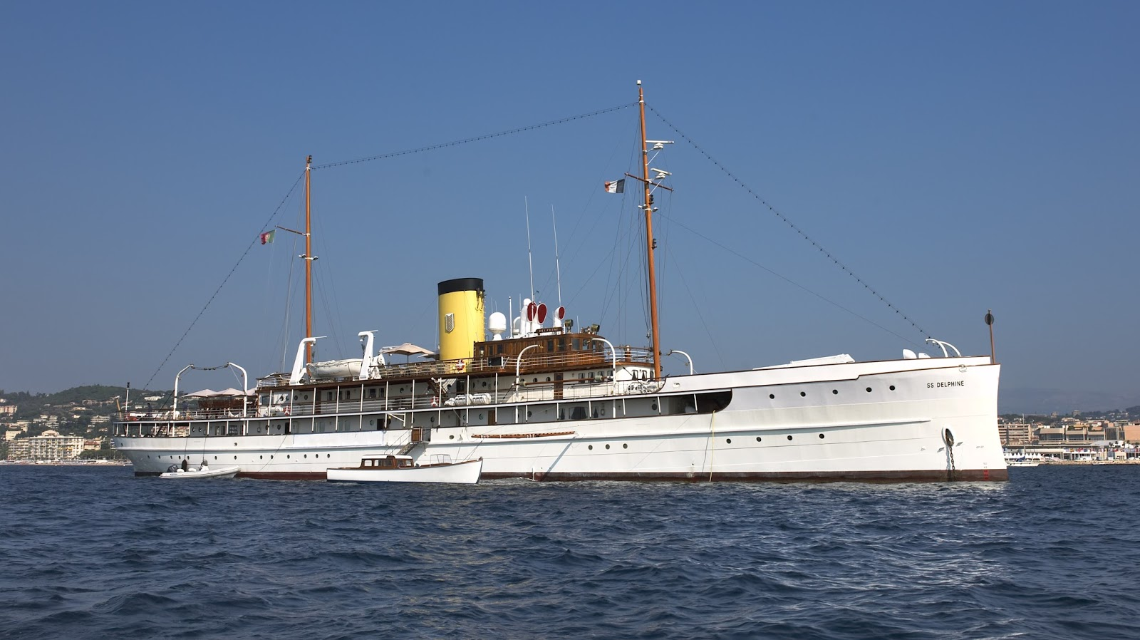 The Steam Yacht Delphine Goes on the Market Again - The Howorths | The Howorths