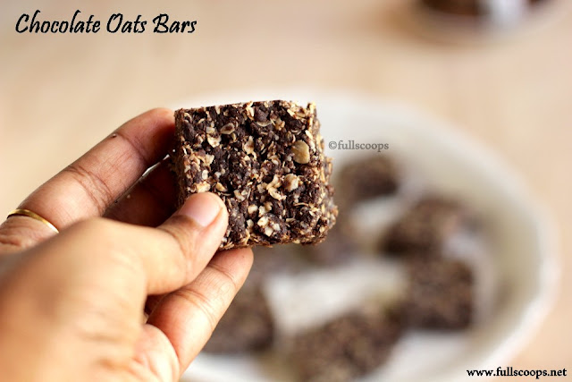 Chocolate Oats Bars