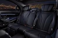 2015 New S-Class Sedan Mercedes Exclusive interior back seat