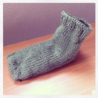 chaussettes tricot carofoliz lil weasel knit spirit diy