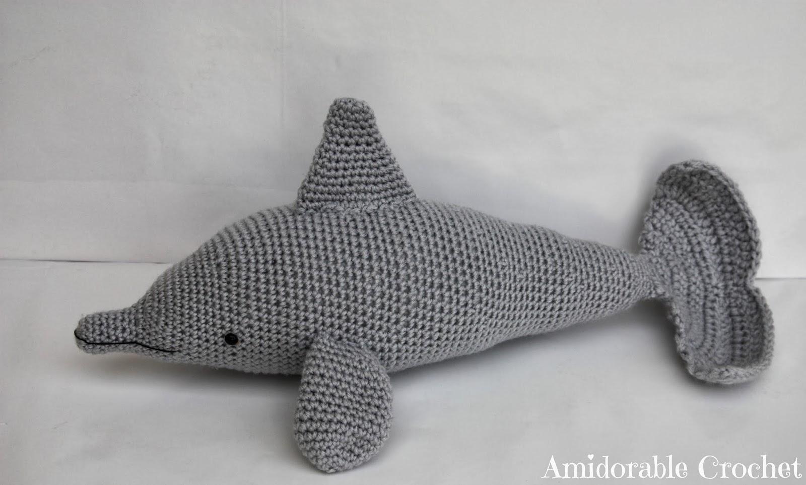 Crochet Amigurumi Dolphin Pattern : A[mi]dorable Crochet: Dolphin Pattern