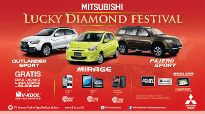 Pogram Mitsubishi Lucky Diamond Festival