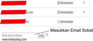 Cara Tambah Email Pengguna di Google Adsense
