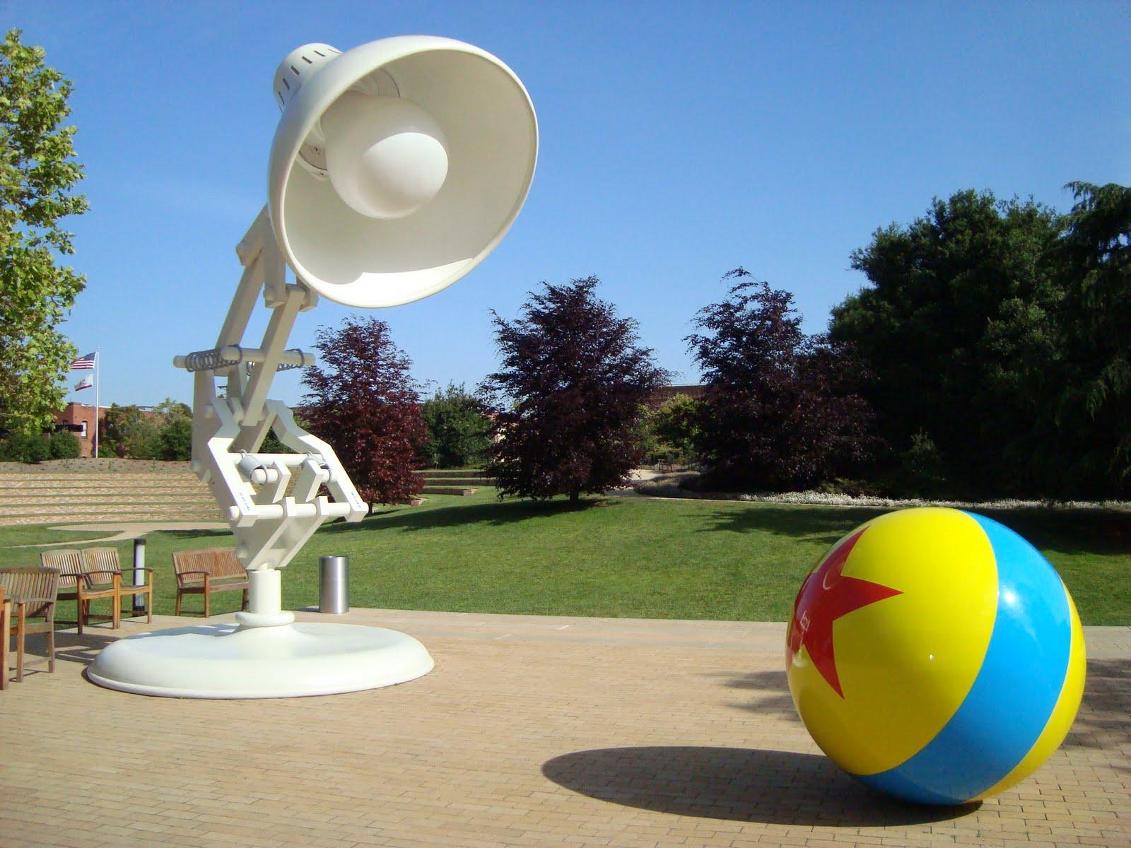 Pixar Corner My Visit To Pixar The Studio Grounds