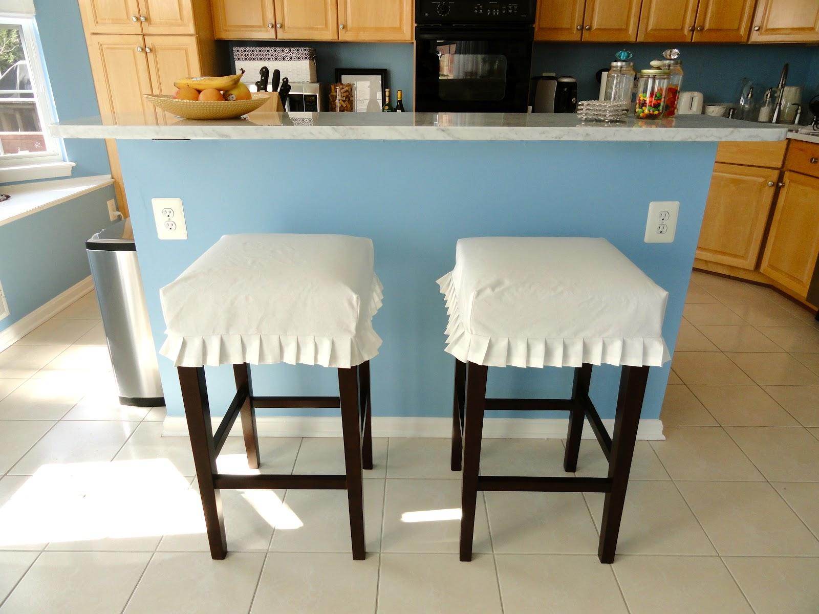 Rachel S Nest Kitchen Barstool Slipcovers