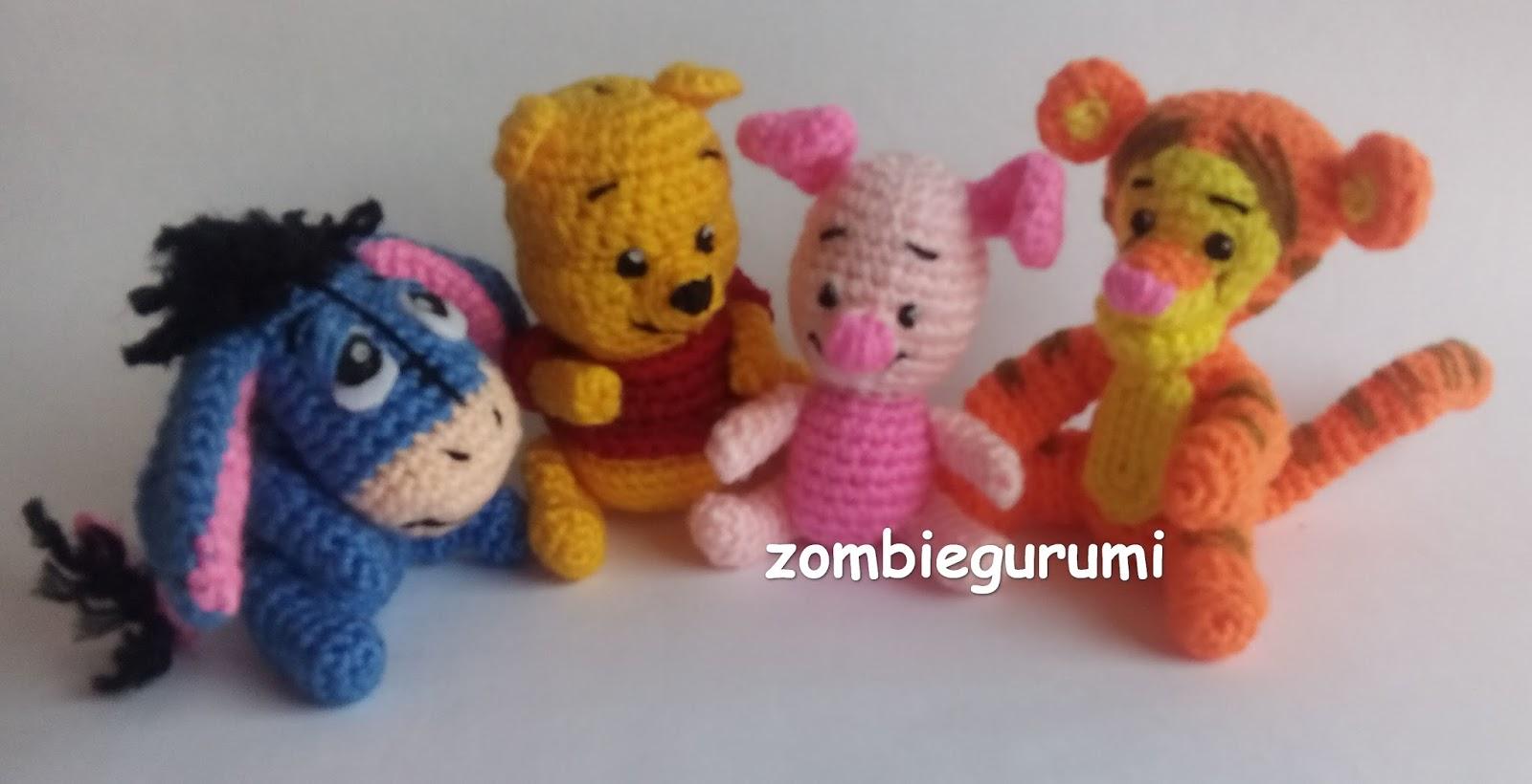 Pony Amigurumi Patron Gratis : Amigurumis: Winnie Pooh amigurumi... PATRoN GRATIS