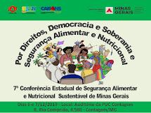 7ª Conferência Estadual de Segurança Alimentar e Nutricional Sustentável de Minas Gerais