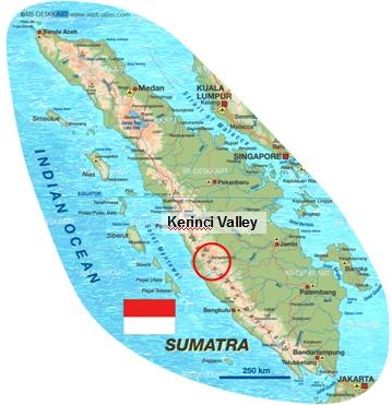 Greater Sunda Islands Physical Map