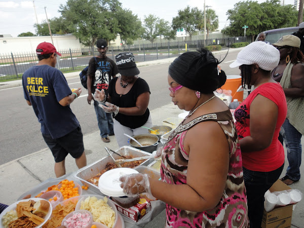 Feeding The Homeless- Less Fortunate/w Michelle Williams