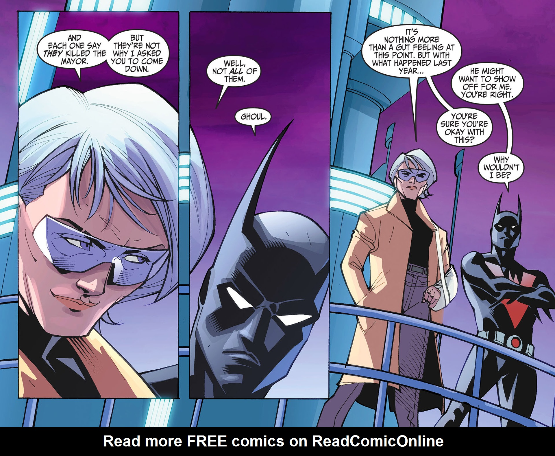 Batman Beyond 2.0 Issue #2 #2 - English 7