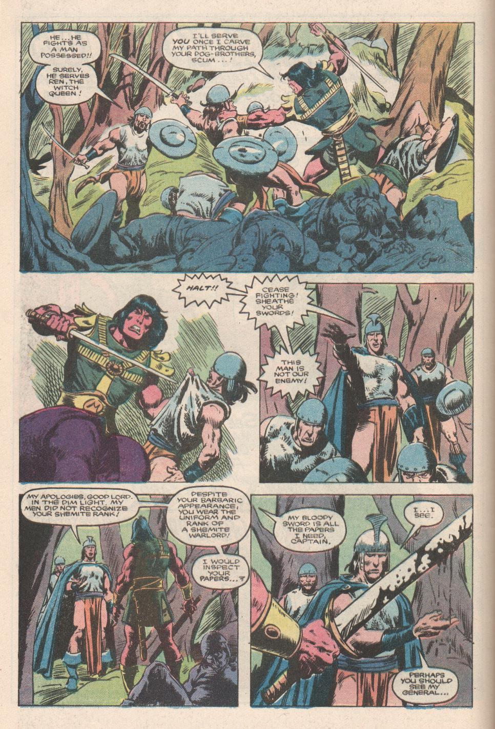 Conan the Barbarian (1970) Issue #180 #192 - English 6