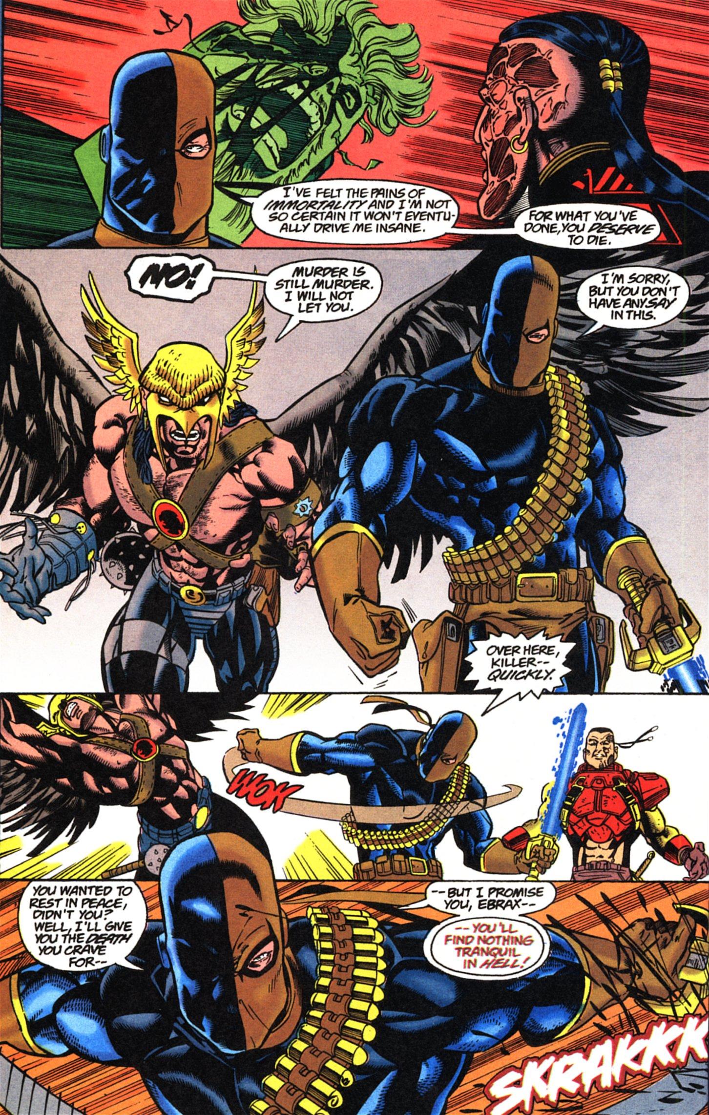 Deathstroke (1991) Issue #52 #57 - English 21