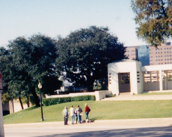 The grassy knoll Dealey Plaza Dallas Texas Nov 1994