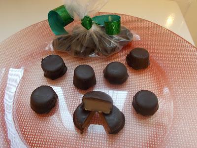 bombones de caramelo
