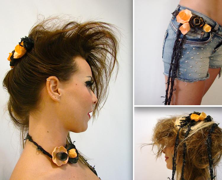 collana, fascia capelli, cinta halloween