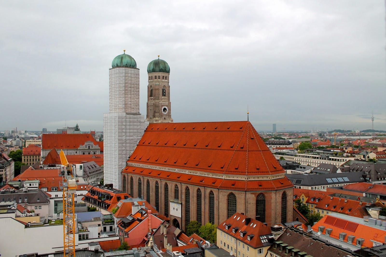 Frauenkirche, la catedral de Munich. ¡Munich! en Hitzen Mundua
