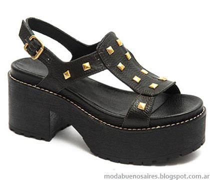 Traza calzados verano 2015 sandalias de moda.