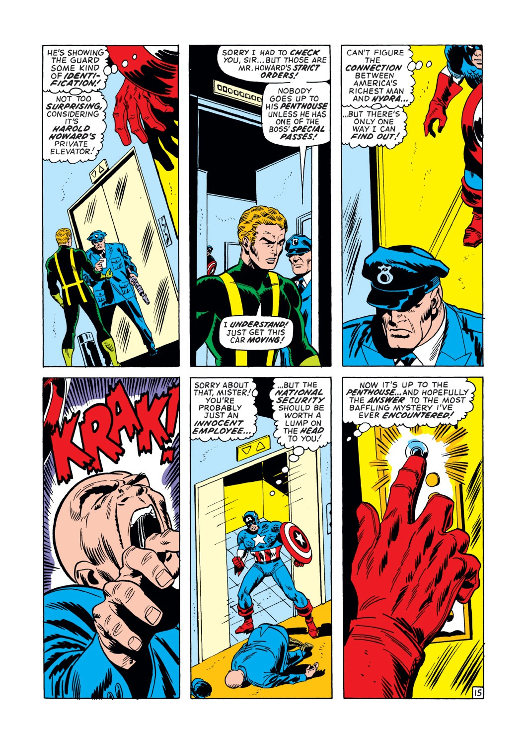 Captain America (1968) Issue #147 #61 - English 16