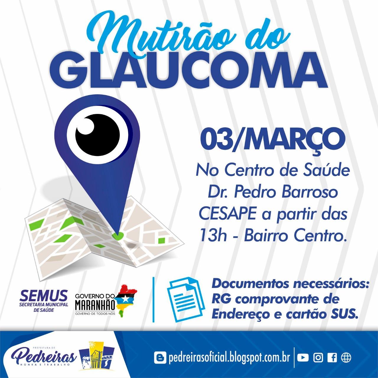 MUTIRÃO DO GLAUCOMA
