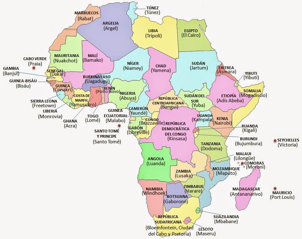 Aprender  Aprender Tema 5 Los continentes